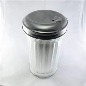 Vintage Cafe Glass Sugar Dispenser Diversion Safe Can