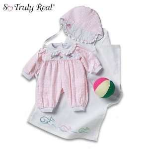 So Truly Real Baby Doll Clothing Beach Ensemble Toys