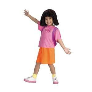 Dora The Explorer Deluxe Child Costume (Small) Toys & Games