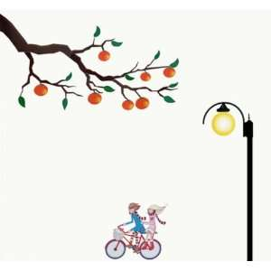 Bigbvg Easy Instant Home Decor Wall Sticker Decal   Bicycle Lovers