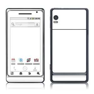 Solid State White Design Protective Skin Decal Sticker for
