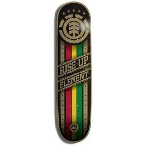 Element Skateboards RISE UP RASTA BANNER Skateboard Deck 8