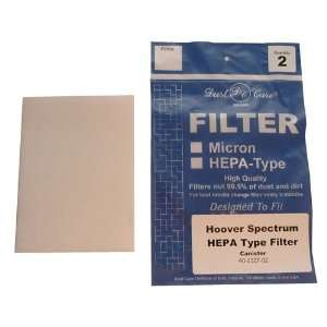 Spectrum Hoover Vacuum Cleaner Replacement Filter