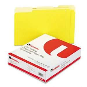 Colored File Folders, 1/3 Cut One Ply Top Tab, Letter