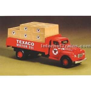 IMEX HO Scale Ford Flatbed w/Load   Texaco: Toys & Games