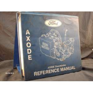 1991 Ford AXODE Transmission Service Manual Ford Motor