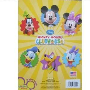 Disney Micky Mouse and Friends Club House Big Fun Book to