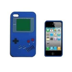 Blue Nintendo Game Boy Gameboy Style Silicone Case Cover