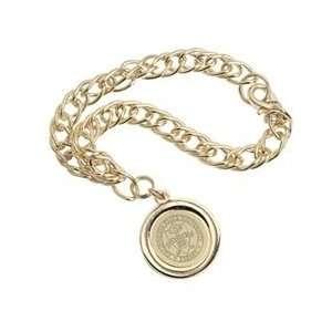 Fresno State   Charm Bracelet   Gold
