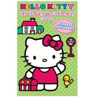 Hello Kitty Coloring and Activity Book with Crayons   8