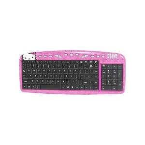 Hello kitty Keyboard  Pink w/ Black Keys