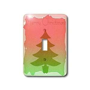 Christmas Tree  Holiday Designs   Light Switch Covers   single toggle