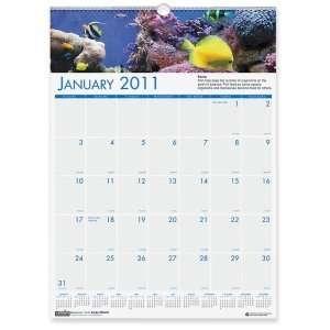 House of Doolittle Panoramic Sea Life Wall Calendar