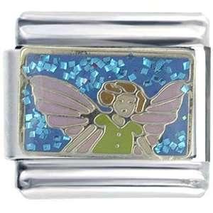 Bracelet Fairy Angel Pink Wings Italian Charms Pugster Jewelry