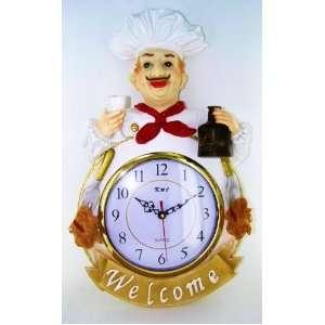 Bistro Fat Chef Kitchen Decor Cookie Jar Canister