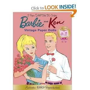 Barbie and Ken Vintage Paper Dolls (Barbie) (Paper Doll