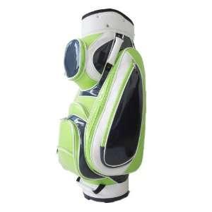 JGolf Ladies Classic Patent Lime Cart Bag  Sports