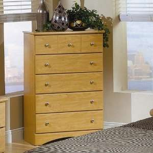 Wildon Home Melvin Chest in Maple