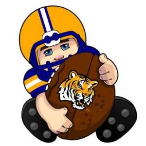 LSU TIGERS LIL FAN PLAYER CHRISTMAS ORNAMENTS (4) Sports