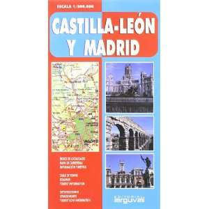 Mapa de Madrid, Castilla Léon (9788495948618) Unknown