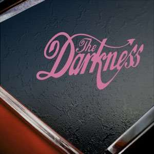 The Darkness Pink Decal Metal Rock Band Window Pink