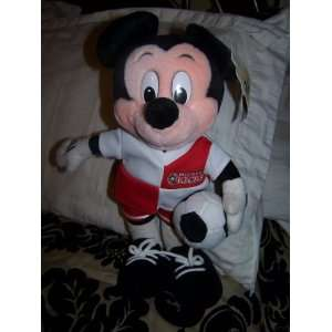 Disney Soccer Mickey Mouse Plush 15 Everything Else
