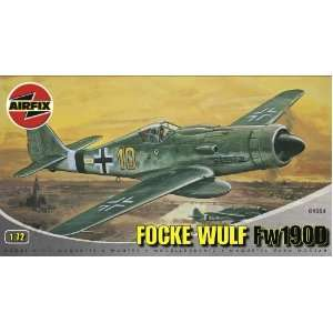 Focke Wulf Fw190D Military Aircraft Classic Kit Series 1 Toys & Games
