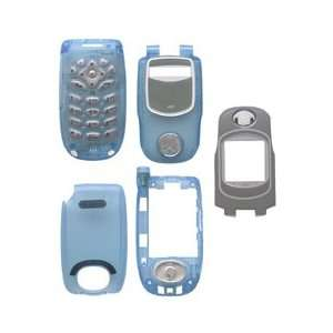Clear Light Blue Full Housing for Nextel i730 Home