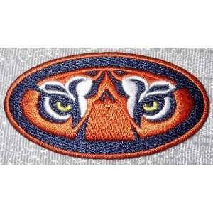NCAA Auburn University Tigers Tiger Eyes Logo Embroidered PATCH