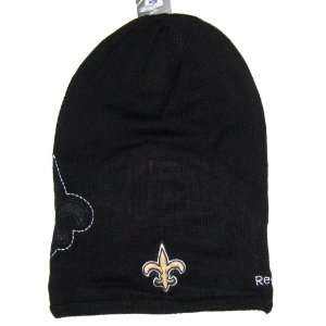 NFL Reebok Player Sideline Long Knit Beanie Hat: Sports & Outdoors