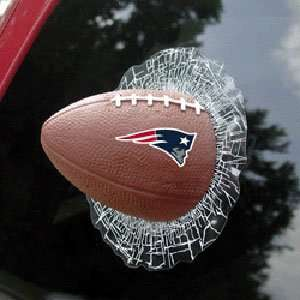 New England Patriots NFL Shatter Ball Window Decal  Sports