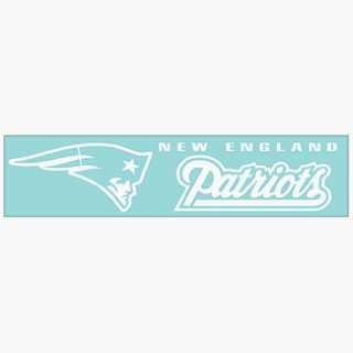 NFL New England Patriots 4x16 Die Cut Decal ** Sports
