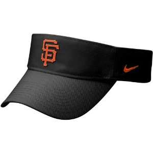Nike San Francisco Giants Black Stadium Adjustable Visor