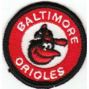 1980s Baltimore Orioles Old Logo 2 Patch (sew on)
