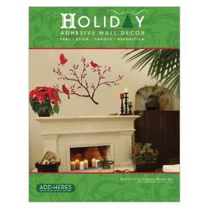Vinyl Christmas Peel and Stick Instant Holiday Wall Sticker Decals