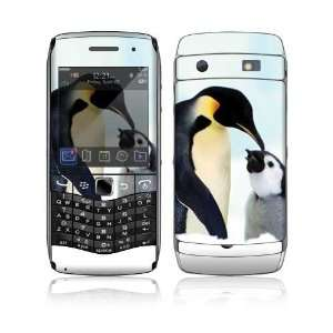 Happy Penguin Decorative Skin Cover Decal Sticker for BlackBerry Pearl