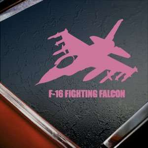 Falcon Fighter Pink Decal Window Pink Sticker Arts, Crafts & Sewing