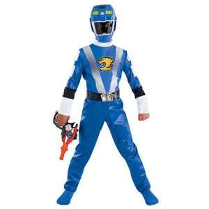 Childs Blue RPM Power Ranger Costume: Toys & Games