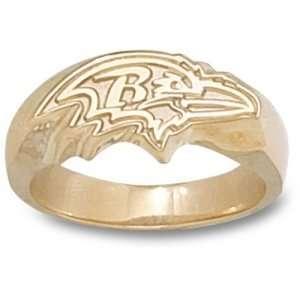 Baltimore Ravens NFL Profile Logo Ring (14kt) Sports