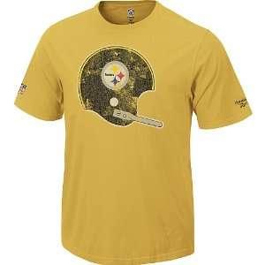 Reebok Pittsburgh Steelers Retro Helmet T Shirt Size