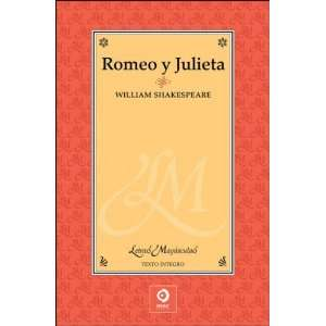 Romeo y Julieta (Letras mayusculas) [Hardcover] William