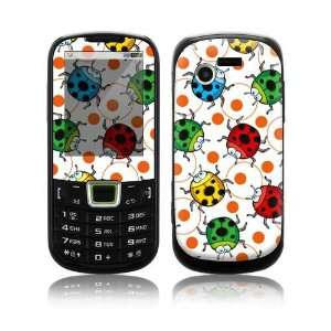 Ladybugs Decorative Skin Cover Decal Sticker for Samsung Evergreen SGH