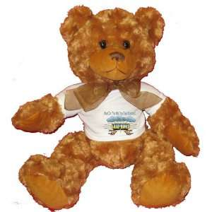 And On The 8th Day God Created SAXOPHONES Plush Teddy Bear