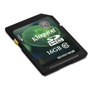 NEW 16GB SDHC Class 10 Flash Card (Flash Memory & Readers