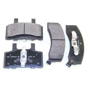 Prime Choice Auto Parts SMK845 Premium New Semi Metallic Front Brake