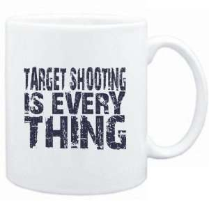 Mug White  Target Shooting is everything  Hobbies