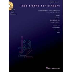 Jazz Tracks for Singers   Womens Edition Book/CD Packs