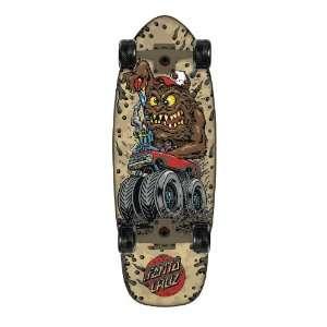 Santa Cruz Skate Big Mudder Cruzer Skateboard Deck (28.5x9