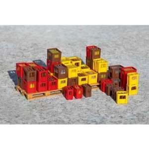 SOFT DRINK CRATES   PIKO G SCALE MODEL TRAIN ACCESSORIES 62294