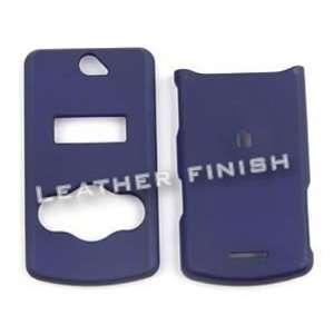 Sony Ericsson W518 Honey Navy Blue, Leather Finish Hard